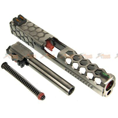 AW CUSTOM HEX Cut Slide Set for Marui WE G17 Airsoft Toy GBB