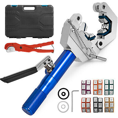 71500 Hydraulic Hose Crimper Tool Kit Air Condtioning Operate Mounting