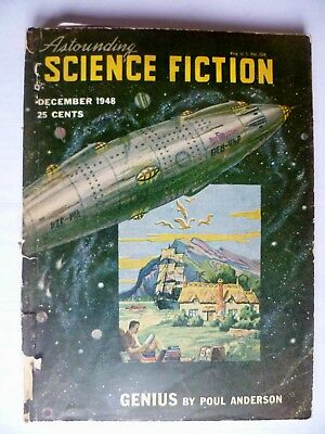 Astounding Science-Fiction   Dec. 1948  Poul Anderson  Eric Frank Russell