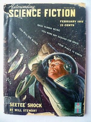 Astounding Science-Fiction   Feb. 1949  Jack Williamson serial part 1 of 3