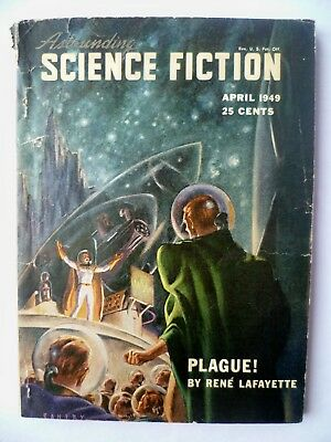 Astounding Science-Fiction   April 1949  Williamson serial pt 3 of 3 + Sturgeon