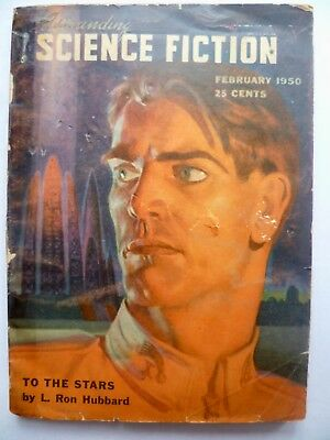 Astounding Science-Fiction   February 1950 L Ron Hubbard serial 1 of 2