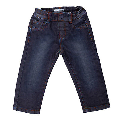 DIRK BIKKEMBERGS Jeans Size 6M Faded Effect Fully Lined Elasticated Waist