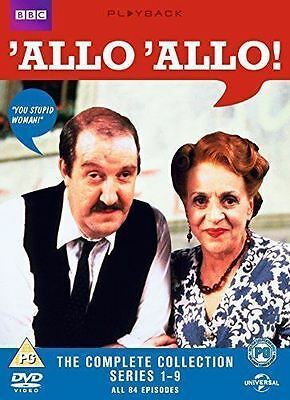 'Allo 'Allo: The Complete Series 1-9 (Box Set) [DVD]