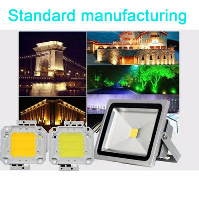 Power 10/20/30/50W Floodlight COB Chip Smart IC LED Chip Driver Lamp Spotlight