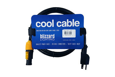 Blizzard TRUE-MAIN-1406 Powercon True to Edison 14 AWG 6' UL APPROVED