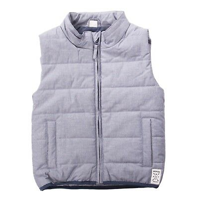 NAME IT Quilted Gilet Size 3-4Y / 104 CM Padded Fully Lined Funnel Neck