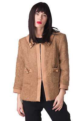 IVAN MONTESI Jacket Size IT 50 / XXL Mohair & Wool Blend Made in Italy RRP €2685