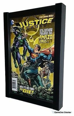 UV Protecting Comic Book Display Case Frame Current Sized Comics GameDay Display