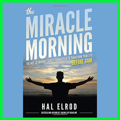 The Miracle Morning by Hal Elrod (E-BooK){PDF}⚡Fast Delivery(10s)⚡