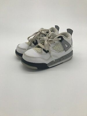 new product 55588 23245 Nike Air Jordan 4 IV Retro Youth 7C