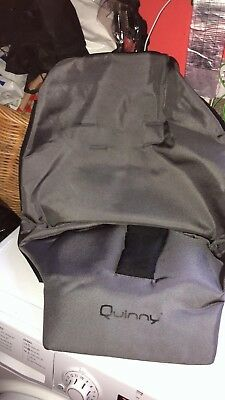 "Quinny Buzz pram and pushchair "" seat cover "" - Grey"