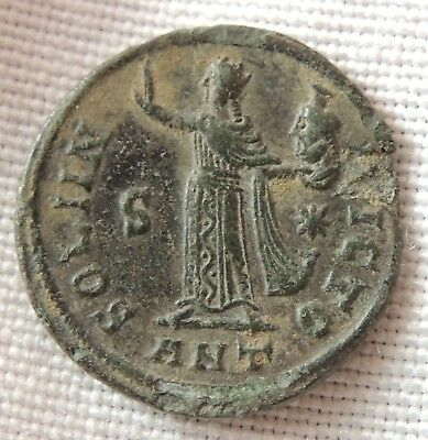 Ancient Roman bronze coin,extremely rare and super high grade    ////10