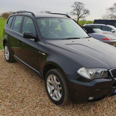 bmw x3 2.0 diesel M sport manual  1 owner low mileage service history cheap 4x4
