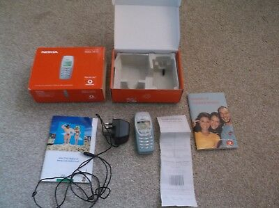 Boxed Nokia 3410 Mobile Phone with instructions and charger & original receipt