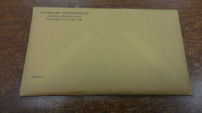 1962 United States Mint PROOF SET Sealed in UNOPENED Envelope of Issue
