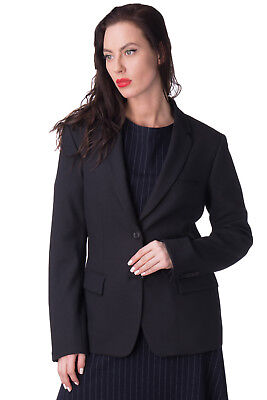 MAURO GRIFONI Blazer Jacket Size IT 46 L Virgin Wool Blend Made in Italy RRP€900