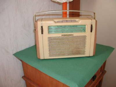 Radio transistor Philips fin années 1950 vintage
