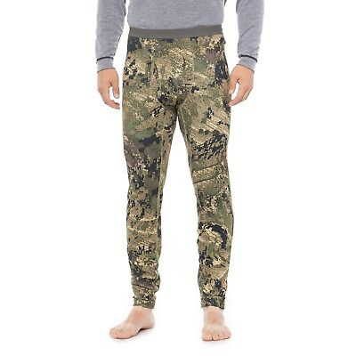 Sitka Traverse Base Layer Bottoms Pants Optifade Ground Forest Camo Size L NEW!
