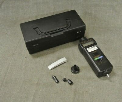 Extech Instruments 461895 Photo/contact Tachometer In Black Case (96138-1 H)