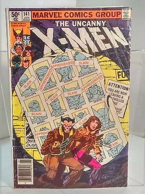 Uncanny X-Men #141 (1963) 4.0 VG Claremont/Byrne - Days of Future Past Part 1