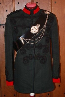 Kings Royal Rifle Corps Officers Full Dress Tunic.