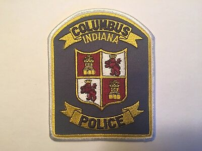 Columbus INDIANA Police Patch