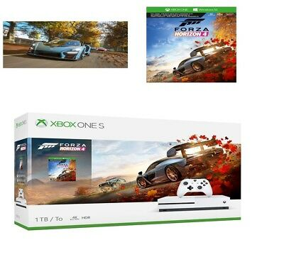 Xbox One S 1TB Forza Horizon 4 Console Bundle - Full-game download included Gift