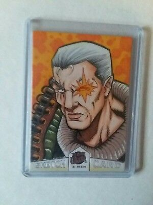2018 Fleer Ultra X-Men Cable Sketch Card by Chris Willpig