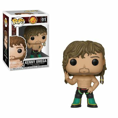 "FunKo POP! New Japan Pro-Wrestling Kenny Omega 3.75"" Vinyl Figure"