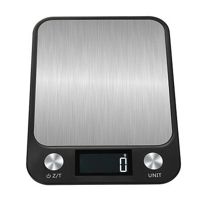 10kg Stainless Steel Digital LCD Electronic Kitchen Cooking Food Weighing Scale~