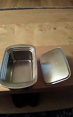 Lakeland Stainless Steel Insulated butter dish