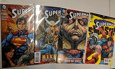 New 52 Superman #20-23