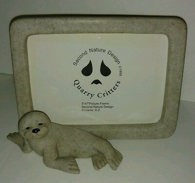 Quarry Critters Photo Frame Seal Sea Lion