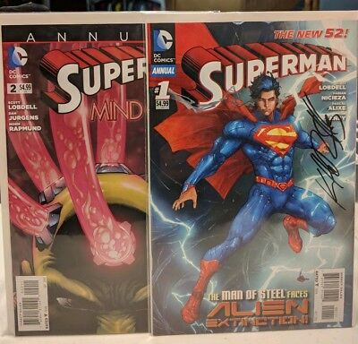 New 52 Superman Annual #1-2