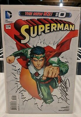 New 52 Superman #0 Nm First Print
