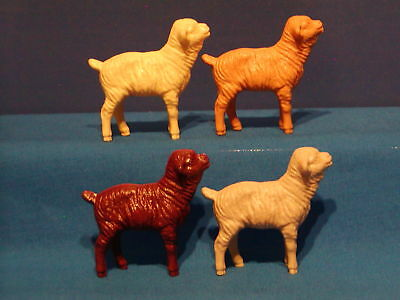 4 Vintage Farm Animals Hartland Sheep