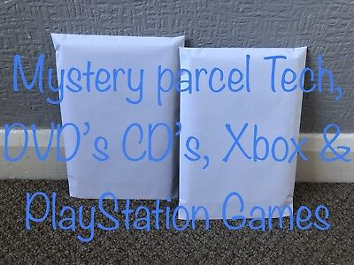 Mystery Box parcel Tech, Dvd, Cd & Playstation & Xbox Games *UK* Only Cheapest