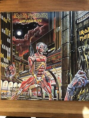 Iron Maiden - Somewhere In Time - Vinyl LP - Jahr: 1986