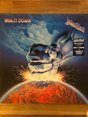 Judas Priest - Ram It Down -  Vinyl LP - Jahr: 1988