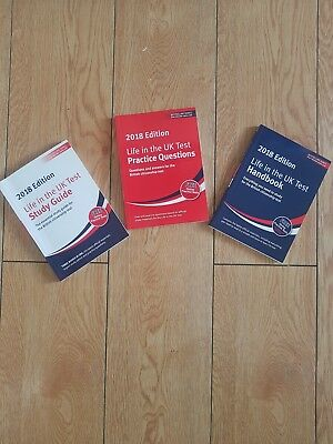 Life in the uk test book set  2018 latest edition