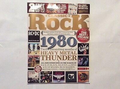 Classic Rock Magazine Issue 141 February 2010 AC/DC Back in Black unopened