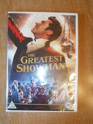The Greatest Showman dvd 2018