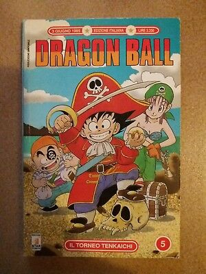 Dragon Ball n.5 1'Serie Manga Ediz.Star 1995 Ottimo