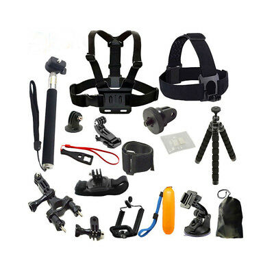 Sports Camera Accessories Kit For GoPro Hero 5 4 3+ 3 2 SJCAM SJ5000x/EKEN A0F9