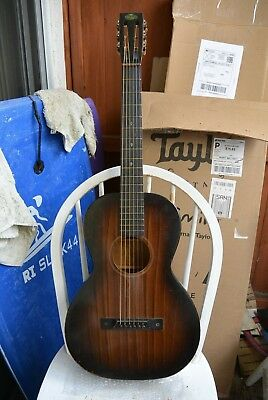 7b6fd2ac90 Vintage Regal parlor guitar circa 1930 fully restored with original case.