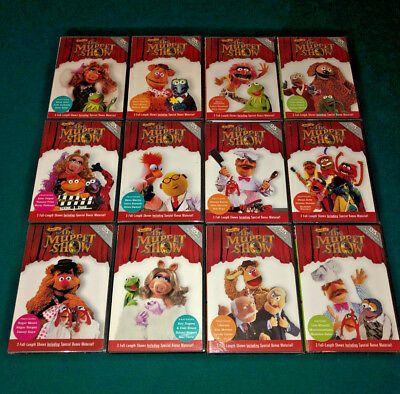 BEST OF THE MUPPET SHOW 25th ANNIV DVD SET TIME LIFE KERMIT THE FROG JIM HENSON