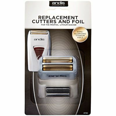 Andis Profoil Shaver Replacement Cutters And Foil #17155