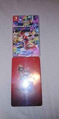 Mario Kart 8 Deluxe (Nintendo Switch, 2017) w/  Collectible Steelbook Case