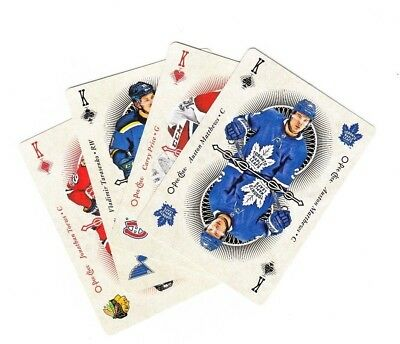 OPC O-Pee-Chee 2018-19 Base Playing Cards Set (48) (2 to K)